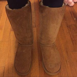 Tall ugg boots II chestnut